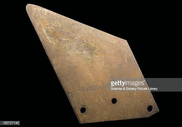 Blade from a guillotine France c1794 Guillotine blade and plinth used at the execution of Carrier in 1794 France 179094
