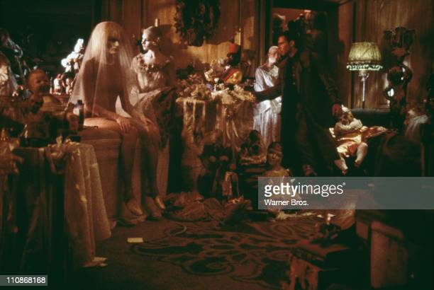 'Blade runner' Rick Deckard enters Sebastian's apartment where he is soon to be attacked by the replicant Pris in a scene from Ridley Scott's...