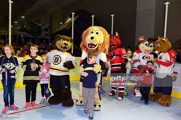 Blades of the Boston Bruins Spartacat of the Ottawa Senators NU Devil of the New Jersey Devils Stormy of the Carolina Hurricanes and Stanley C...