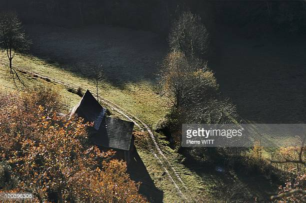 Blague valley Ariege Pyrenees France Lachein valley