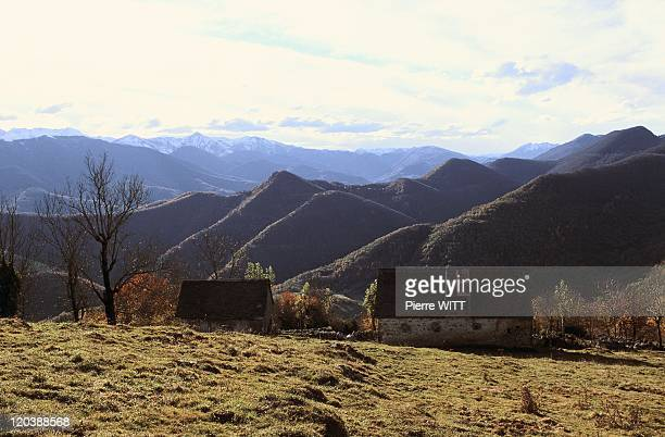 Blague valley Ariege Pyrenees France