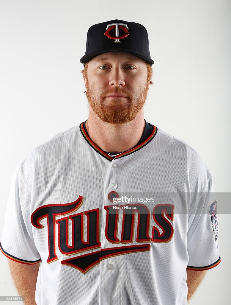 <a gi-track='captionPersonalityLinkClicked' href=/galleries/search?phrase=Blaine+Boyer&family=editorial&specificpeople=836412 ng-click='$event.stopPropagation()'>Blaine Boyer</a> #36 of the Minnesota Twins poses for a photo during the Twins' photo day on March 3, 2015 at Hammond Stadium in Fort Myers, Florida.