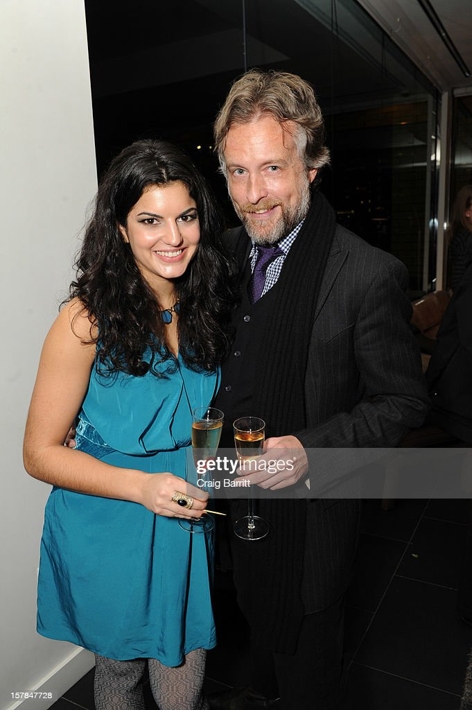 K. Blaine Johnston and guest attend the Worldview Entertainment 2012 Holiday Party at William Beaver House on December 6, 2012 in New York City.