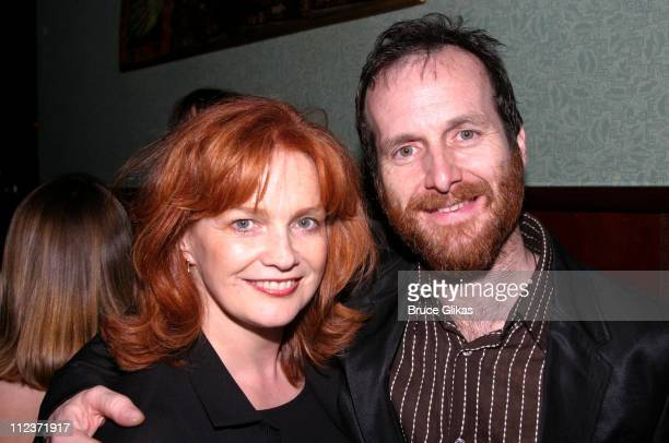 Blair Brown and Denis O'Hare during Opening Night of 'Assassins' on Broadway at Broadway in New York City New York United States