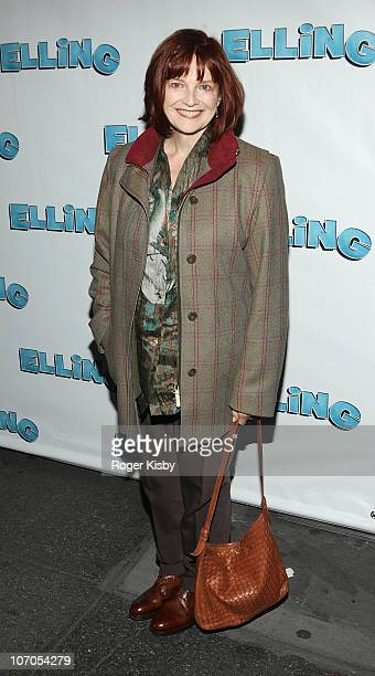 Blair Brown attends the Broadway opening night of 'Elling' at the Ethel Barrymore Theatre on November 21 2010 in New York City