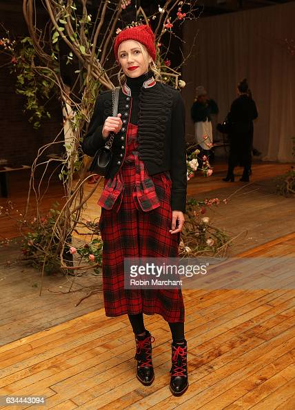 Blair Eadie attends Ulla Johnson Front Row during New York Fashion Week on February 9 2017 in New York City