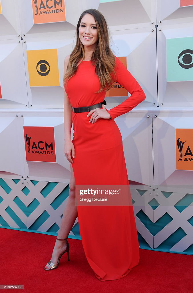 Blair Fowler arrives at the 51st Academy Of Country Music Awards at MGM Grand Garden Arena on April 3, 2016 in Las Vegas, Nevada.