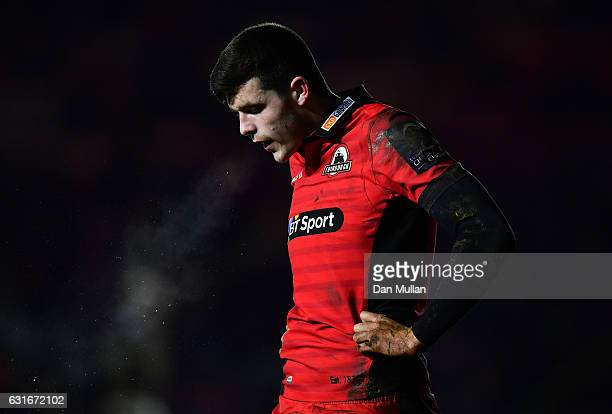 Blair Kinghorn of Edinburgh looks on during the European Rugby Challenge Cup Pool 5 match between Harlequins and Edinburgh Rugby at the Twickenham...