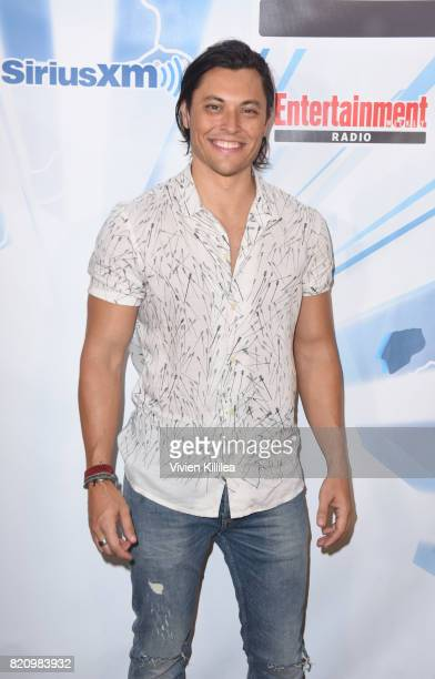 Blair Redford attends SiriusXM's Entertainment Weekly Radio Channel Broadcasts From Comic Con 2017 at Hard Rock Hotel San Diego on July 22 2017 in...