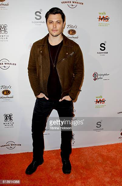 Blair Redford attends the annual Los Angeles celebrity walk for Multiple Sclerosis kick off event on March 4 2015 in Los Angeles California