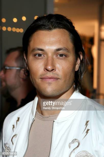 Blair Redford attends the Entertainment Weekly and Marvel After Dark event at the EW Studio during ComicCon at Hard Rock Hotel San Diego on July 21...