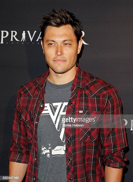 Blair Redford attends the launch of '6 Bullets To Hell' on May 10 2016 in Los Angeles California