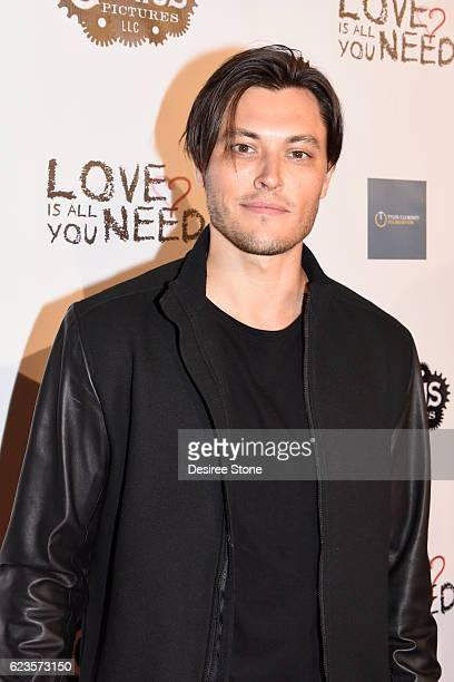 Blair Redford attends the premiere of 'Love Is All You Need' at ArcLight Hollywood on November 15 2016 in Hollywood California