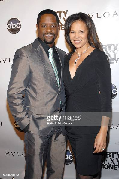 Blair Underwood and Desiree DaCosta attend BVLGARI Presents the Premiere Event For 'Dirty Sexy Money' at Paramount Theatre on September 23 2007 in...