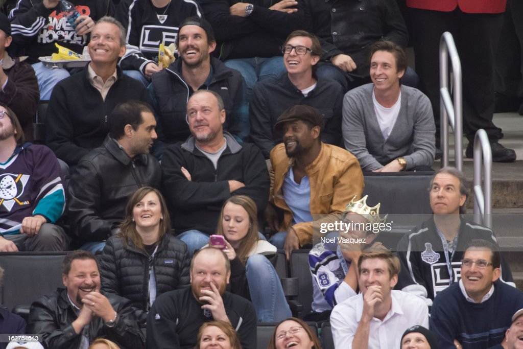 <a gi-track='captionPersonalityLinkClicked' href=/galleries/search?phrase=Blair+Underwood&family=editorial&specificpeople=215367 ng-click='$event.stopPropagation()'>Blair Underwood</a> is sighted at a hockey game between the Anahiem Ducks and Los Angeles Kings at Staples Center on February 25, 2013 in Los Angeles, California.