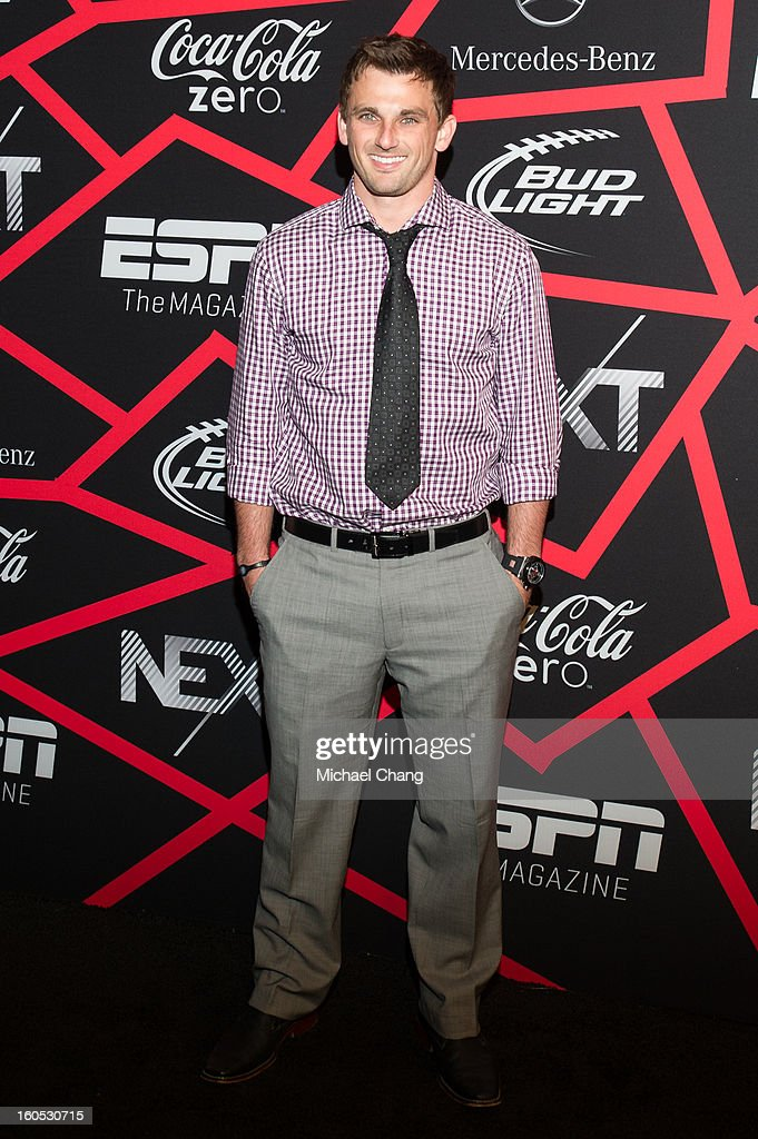 Blair Walsh attends ESPN The Magazine's 'Next' Event at Tad Gormley Stadium on February 1, 2013 in New Orleans, Louisiana.