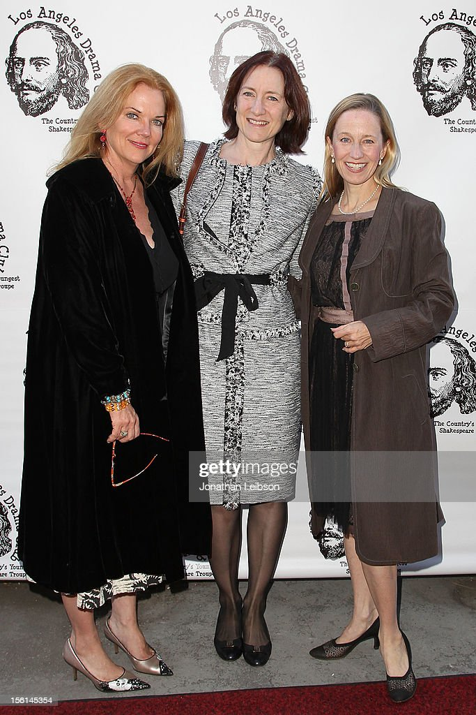 Blaire Baron Larson, Lisa Henson and Julia Wyson attend The Los Angeles Drama Club And Magic Castle Host 1st Gala Fundraiser And Benefit Performance 'Tempest In A Teacup' at The Magic Castle on November 11, 2012 in Hollywood, California.