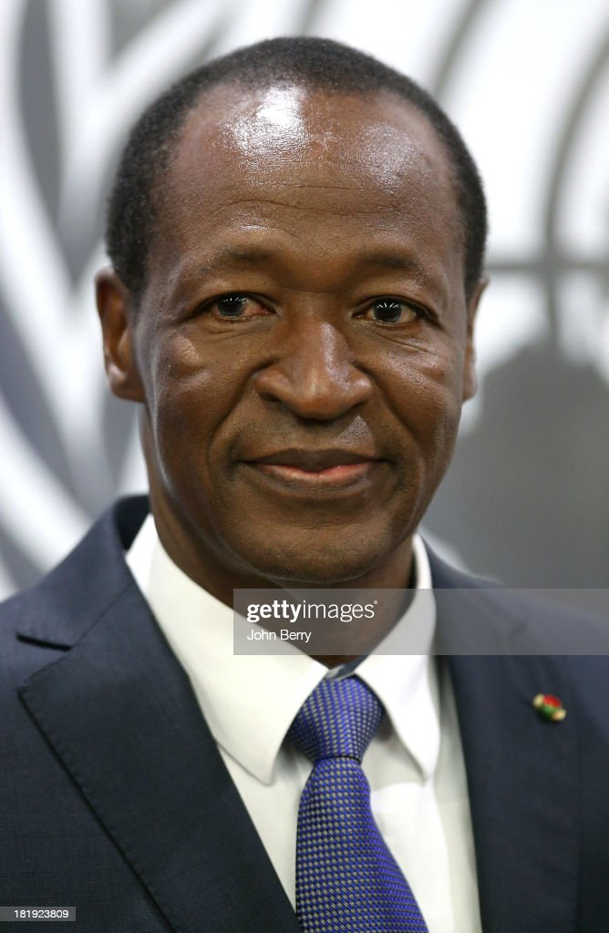 Blaise Compaore, President of Burkina Faso attends the 68th session of the United Nations General Assembly on September 25, 2013 in New York City.