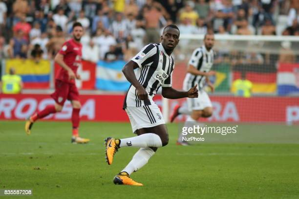 Blaise Matudi during the Serie A football match between Juventus FC and Cagliari Calcio at Allianz Stadium on august 19 2017 in Turin Italy