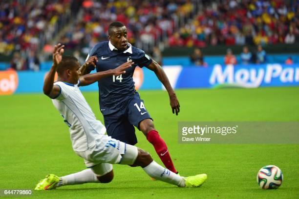 Blaise MATUIDI / Brayan BECKELES France / Honduras Coupe du Monde 2014 Photo Dave Winter / Icon Sport