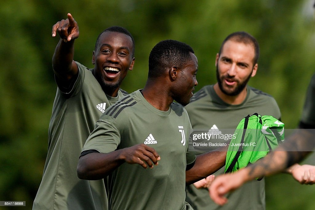 Blaise Matuidi during a Juventus Training Session at Juventus Center Vinovo on September 26, 2017 in Vinovo, Italy.
