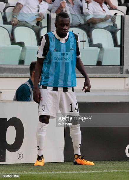 Blaise Matuidi during Serie A match between Juventus v Cagliari in Turin on August 19 2017