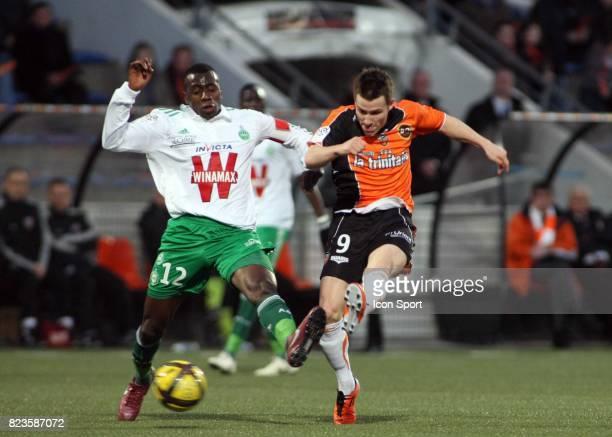 Blaise MATUIDI / Kevin GAMEIRO Lorient / Saint Etienne 28eme journee de Ligue 1