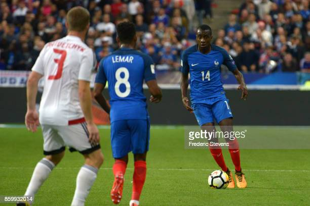 Blaise Matuidi midfielder of France Football team during the FIFA 2018 World Cup Qualifier between France and Belarus at Stade de France on October...