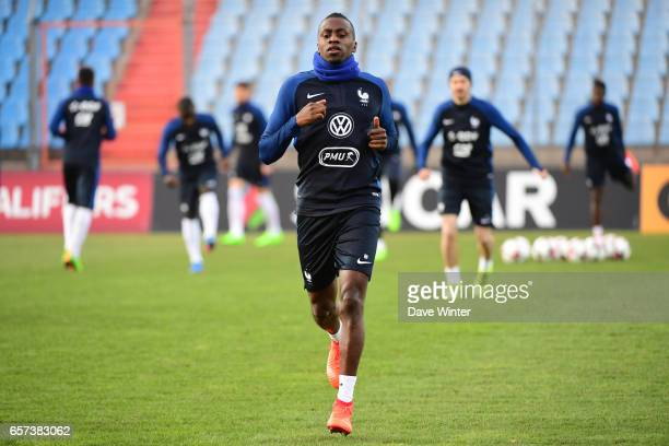 Blaise Matuidi of France during the training session before the FIFA World Cup 2018 qualifying match between Luxembourg and France on March 24 2017...