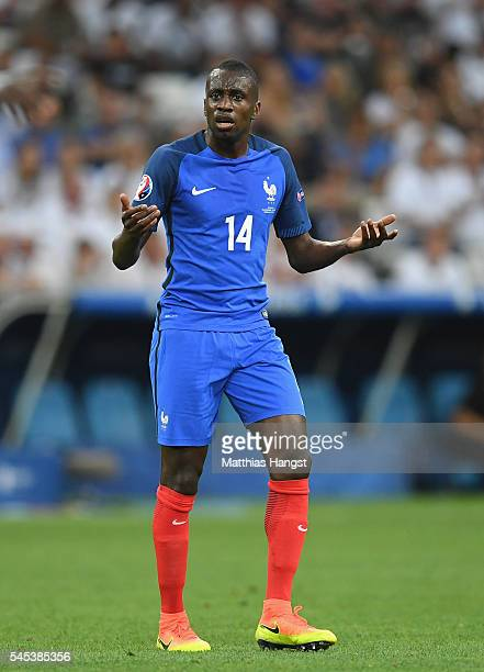 Blaise Matuidi of France gestures during the UEFA EURO semi final match between Germany and France at Stade Velodrome on July 7 2016 in Marseille...