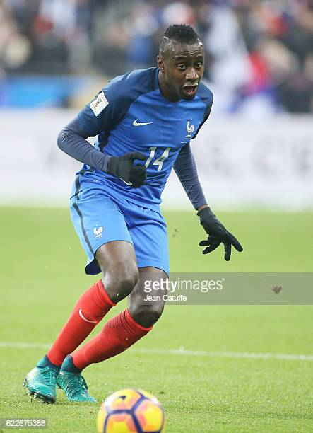 Blaise Matuidi of France in action during the FIFA 2018 World Cup Qualifier between France and Sweden at Stade de France on November 11 2016 in...