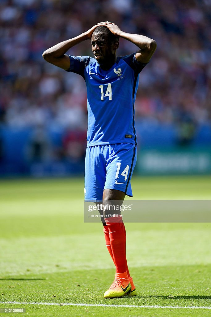 <a gi-track='captionPersonalityLinkClicked' href=/galleries/search?phrase=Blaise+Matuidi&family=editorial&specificpeople=801779 ng-click='$event.stopPropagation()'>Blaise Matuidi</a> of France reacts during the UEFA EURO 2016 round of 16 match between France and Republic of Ireland at Stade des Lumieres on June 26, 2016 in Lyon, France.
