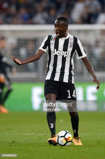 Blaise Matuidi of Juventus FC in action during the Serie A football match between Juventus FC and AC ChievoVerona Juventus FC wins 30 over AC...