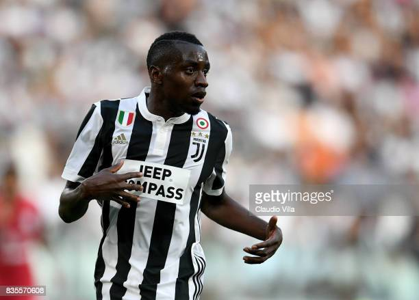 Blaise Matuidi of Juventus FC looks on during the Serie A match between Juventus and Cagliari Calcio at Allianz Stadium on August 19 2017 in Turin...