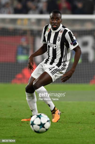 Blaise Matuidi of Juventus in action during the UEFA Champions League group D match between Juventus and Sporting CP at Juventus Stadium on October...