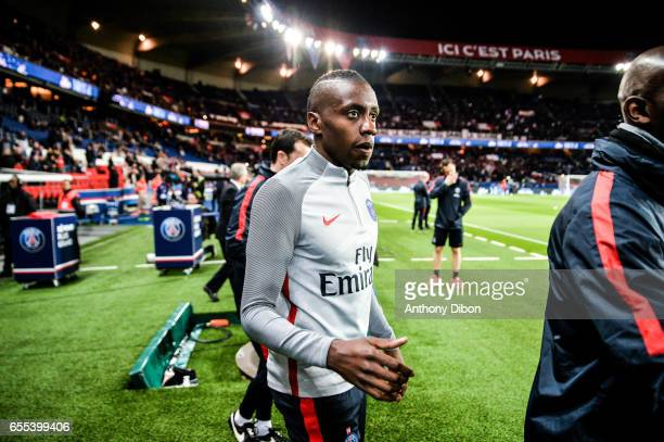 Blaise Matuidi of PSG during the French Ligue 1 match between Paris Saint Germain and Lyon at Parc des Princes on March 19 2017 in Paris France