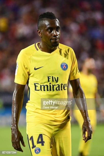 Blaise Matuidi of PSG during the International Champions Cup match between Paris Saint Germain and Tottenham Hotspur on July 22 2017 in Orlando...