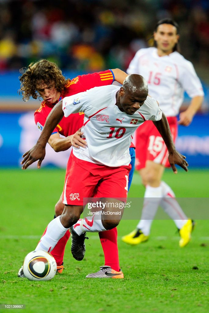 Spain v Switzerland: Group H - 2010 FIFA World Cup