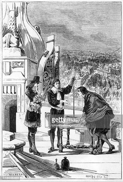 Blaise Pascal French mathematician physicist and religious philosopher Pascal carrying out experiments with the mercury barometer on the tower of St...