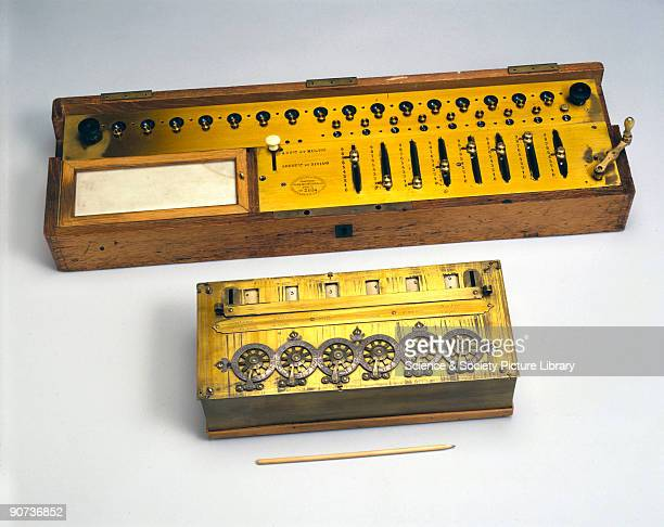 Blaise Pascal was France's most celebrated mathematician and physicist This calculator is an exact replica of an original calculating machine...