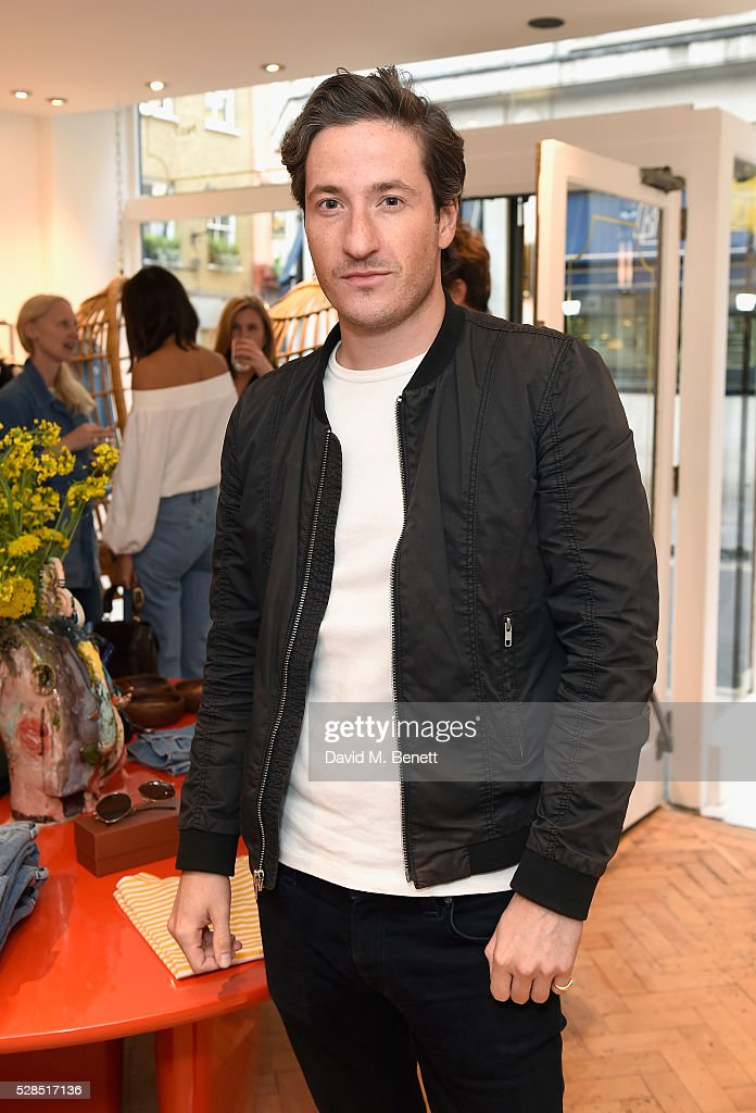 Blaise Patrick attends M.i.h Jeans' 10th Anniversary Celebration at their pop-up concept store on Upper James Street on May 5, 2016 in London, England.