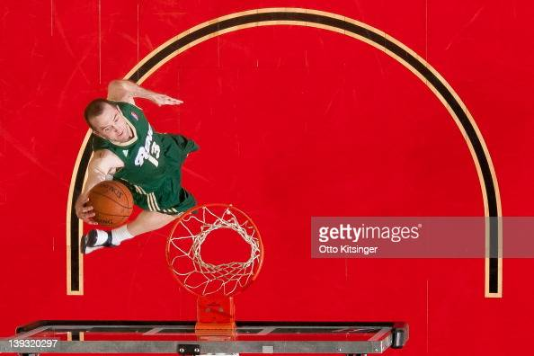 Blake Ahearn of the Reno Bighorns goes up to the basket against the Idaho Stampede on February 18 2012 at CenturyLink Arena in Boise Idaho NOTE TO...