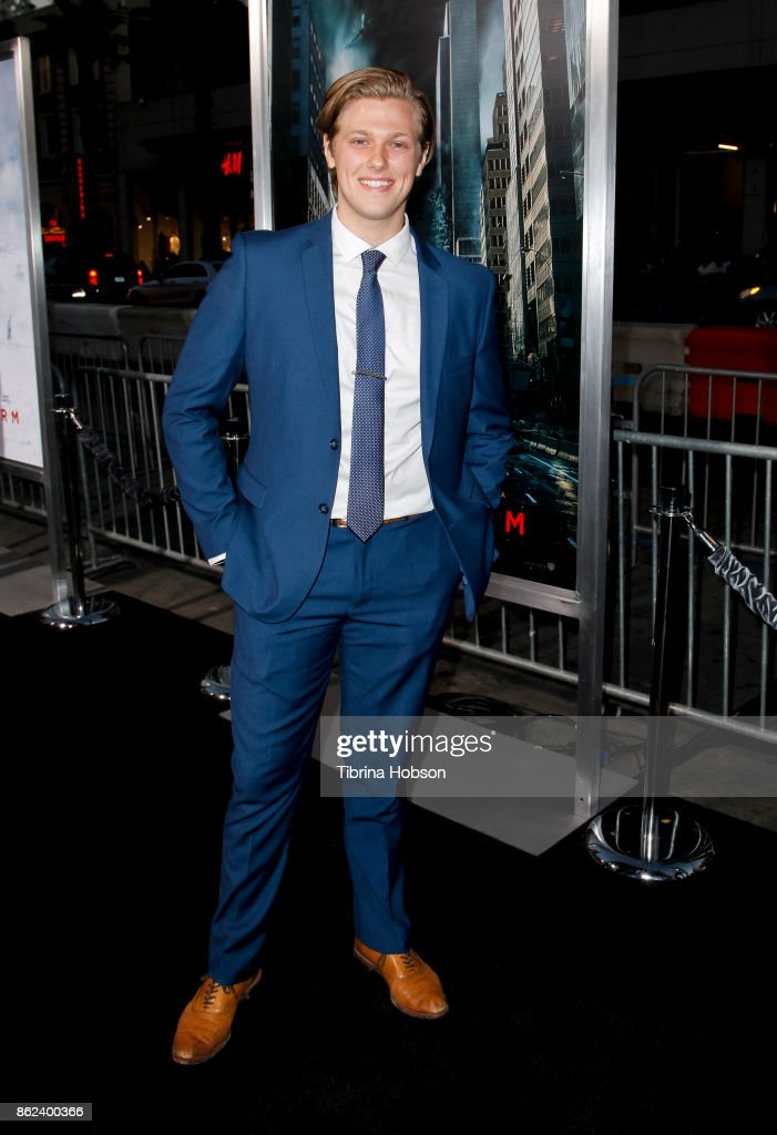 Blake Burt attends the premiere of Warner Bros. Pictures 'Geostorm' at TCL Chinese Theatre on October 16, 2017 in Hollywood, California.