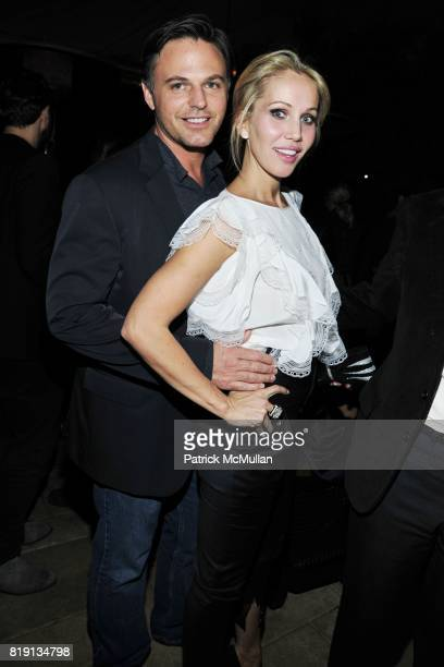 Blake Davenport Brooke Davenport attend NICOLAS BERGGRUEN's 2010 Annual Party at the Chateau Marmont on March 3 2010 in West Hollywood California