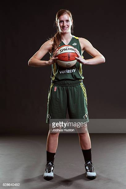 Blake Dietrick of the Seattle Storm poses for a photo during media day at Key Arena in Seattle Washington May 05 2016 NOTE TO USER User expressly...
