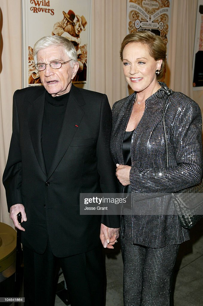 <a gi-track='captionPersonalityLinkClicked' href=/galleries/search?phrase=Blake+Edwards&family=editorial&specificpeople=208788 ng-click='$event.stopPropagation()'>Blake Edwards</a> and <a gi-track='captionPersonalityLinkClicked' href=/galleries/search?phrase=Julie+Andrews&family=editorial&specificpeople=93639 ng-click='$event.stopPropagation()'>Julie Andrews</a> during Reception for <a gi-track='captionPersonalityLinkClicked' href=/galleries/search?phrase=Blake+Edwards&family=editorial&specificpeople=208788 ng-click='$event.stopPropagation()'>Blake Edwards</a>, Honorary Academy Award Recipient - February 26, 2004 at The Annex, Hollywood & Highland in Hollywood, California, United States.