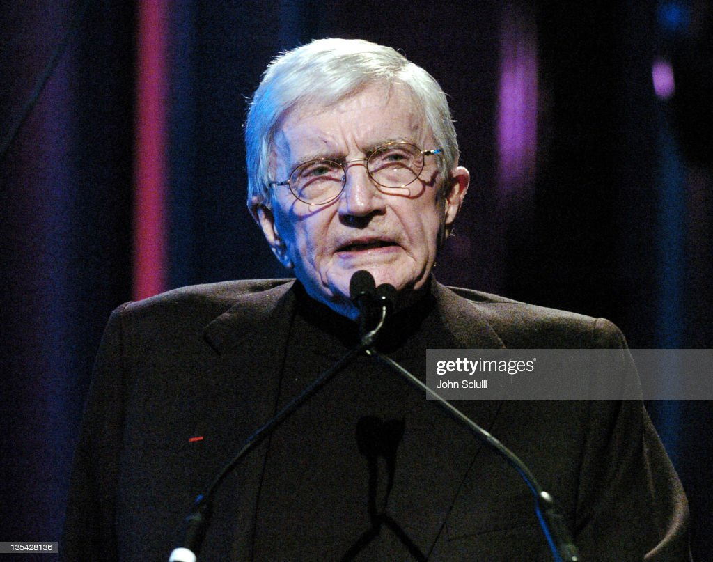 Blake Edwards during The Larry King Cardiac Foundation Gala at The Regent Beverly Wilshire Hotel in Beverly Hills, California, United States.