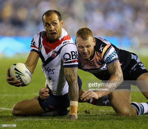NRL Rd 25 - Sharks V Roosters Photos And Images