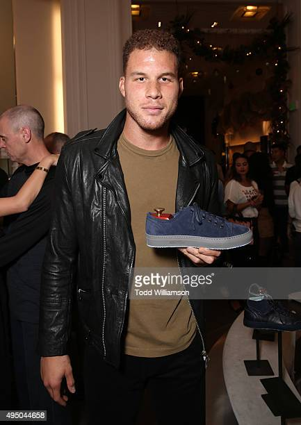 Blake Griffin attends a Del Toro Chandler Parsons Event at Saks Fifth Avenue Beverly Hills on October 30 2015 in Beverly Hills California