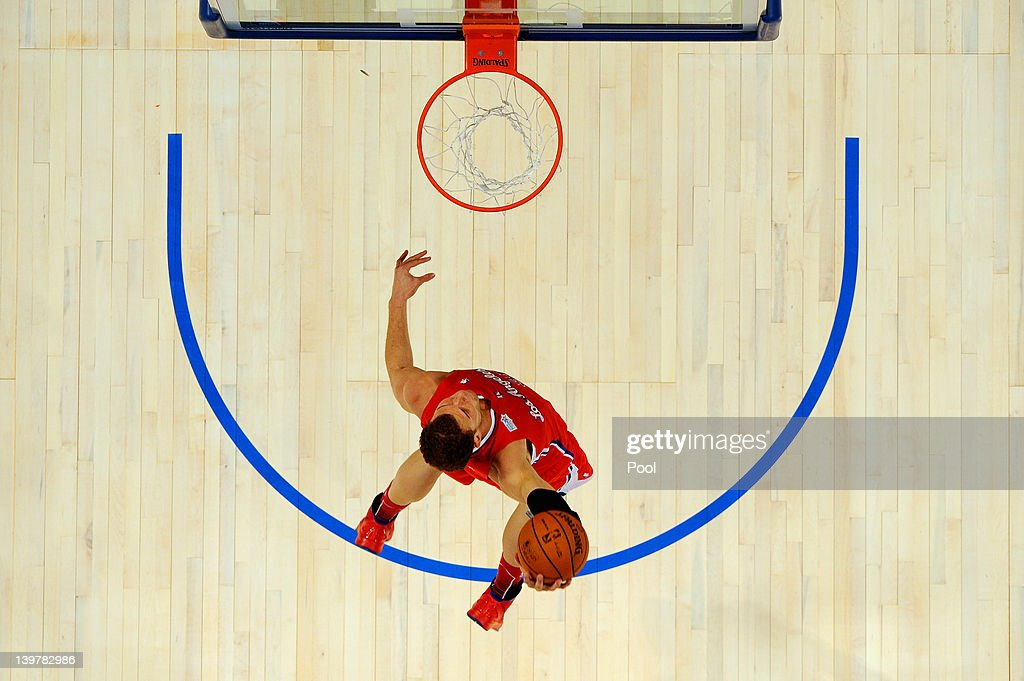 <a gi-track='captionPersonalityLinkClicked' href=/galleries/search?phrase=Blake+Griffin+-+Basketball+Player&family=editorial&specificpeople=4216010 ng-click='$event.stopPropagation()'>Blake Griffin</a> #32 of the Los Angeles Clippers and Team Shaq dunks during the BBVA Rising Stars Challenge part of the 2012 NBA All-Star Weekend at Amway Center on February 24, 2012 in Orlando, Florida.